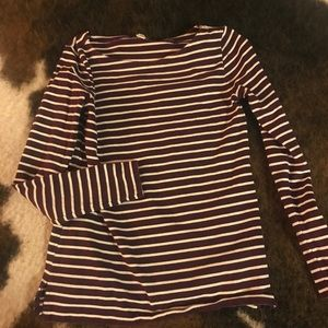 J.Crew Striped Thick Long Sleeve